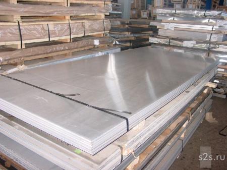 Плита алюминиевая Д16 100 ГОСТ 17232-99