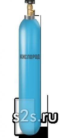 Баллон кислородный емкостью 40 литров ГОСТ 949-73 ПНТЗ