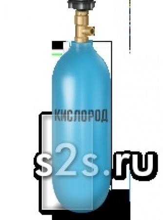 Баллон кислородный емкостью 5 литров ГОСТ 949-73