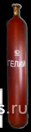 Баллон гелиевый емкостью 10 литров ГОСТ 949-73