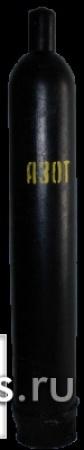 Баллон азотный емкостью 40 литров ГОСТ 949-73