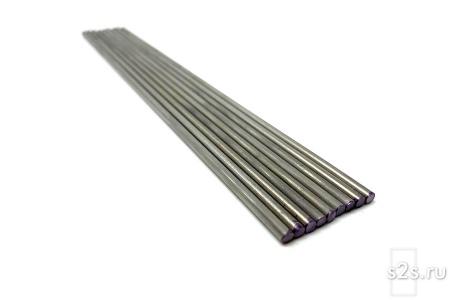 Вольфрамовые электроды ЭВИ-2  D 8 -300 мм