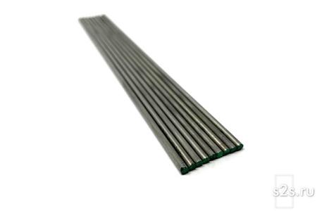 Вольфрамовые электроды ЭВИ-3   ГК СММ ™ D 10-75 мм  (1кг)