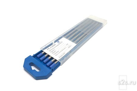 Вольфрамовые электроды WL-20 D 6 -175 мм - пачка 5 шт