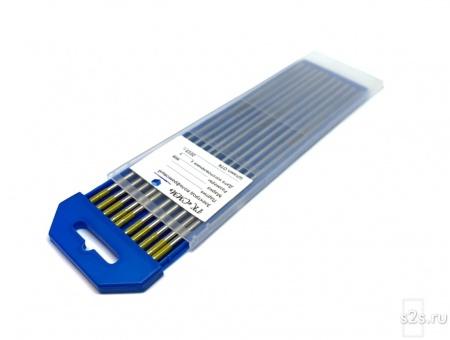Вольфрамовые электроды WT-10 D 2,4-175 мм - пачка 10 шт