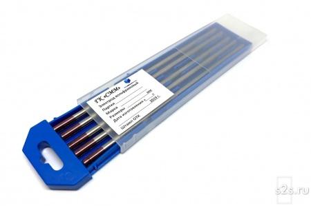 Вольфрамовые электроды WZ-3 ГК СММ ™ D 6 -175 мм - пачка 5 шт