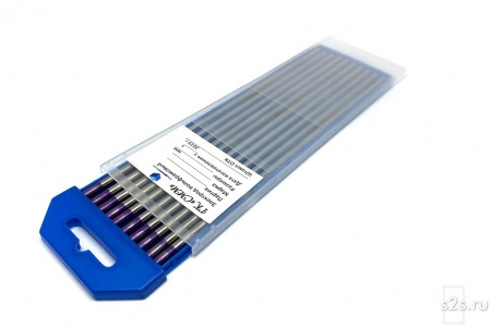 Вольфрамовые электроды WT-30  ГК СММ ™ D 1,6 -175 мм (1 упаковка)