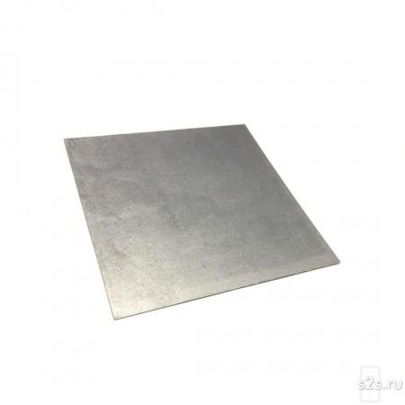 Вольфрамовый лист толщиной  0.5 мм