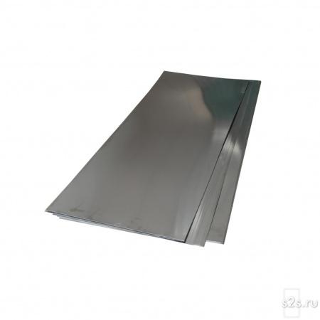 Лист  молибденовый МЧВП 0.55х310х380 мм