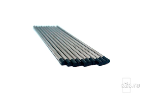 Вольфрамовые электроды ЭВЛ  D 10.0 -150 мм