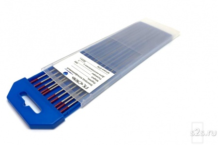 Вольфрамовые электроды WT-20 D 1 -175 мм - пачка 10 шт