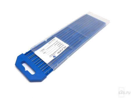 Вольфрамовые электроды WR-2 D 1,5-175 мм - пачка 10 шт