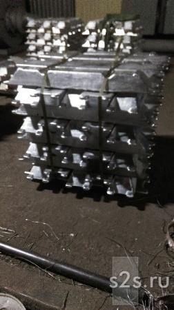 Чушка алюминиевая АК12