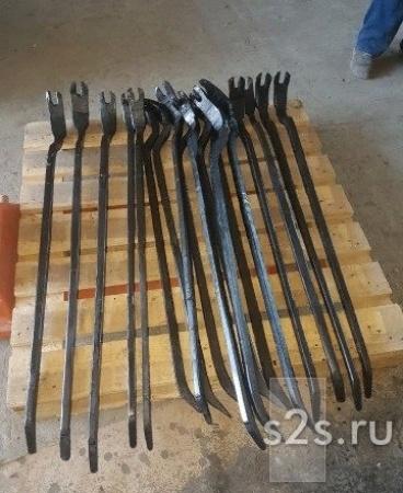 ЛОМ-ЛАПА усиленный из рельсовой стали -2500р./штука