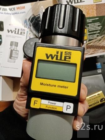 Влагомер Wile 55 - измеритель влажности зерна семян бобовых муки