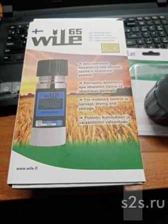 Влагомер Wile 65 - измеритель влажности зерна семян бобовых муки