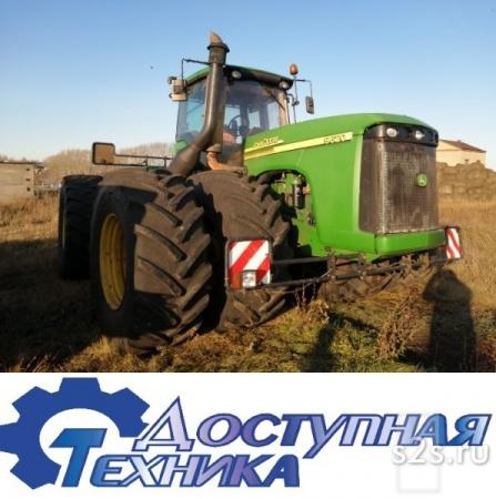 Трактор John Deere 9620