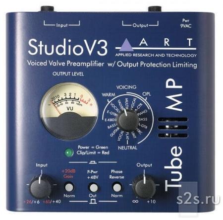 Приборы обработки звука ART TUBE MP STUDIO V3