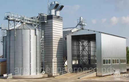 Энергосберегающая зерносушилка Strahl 3500 FR
