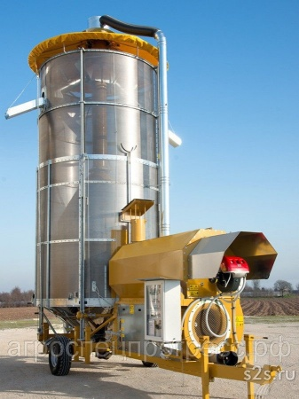 Мобильная зерносушилка Mecmar S 43/340 T2(Италия)