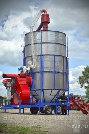 Мобильная зерносушилка АТМ 60 (дизельная\газовая)