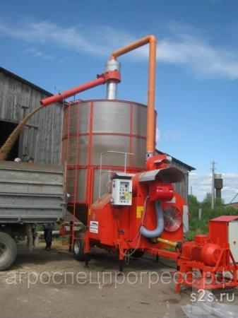 Мобильная зерносушилка FRATELLI PЕDROTTI 27м3