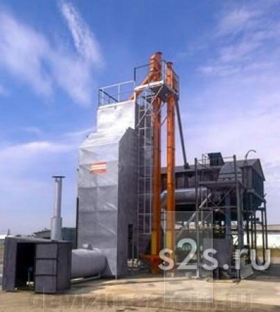 Зерносушилка шахтная 10