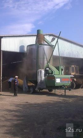 Зерносушилка Agrimec AS900 ВОМ+Электро в наличии
