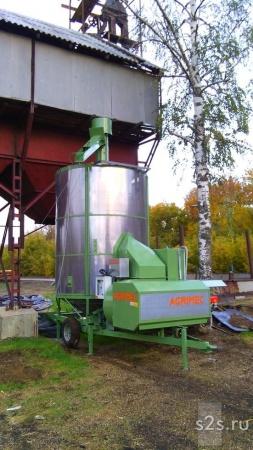 Мобильная зерносушилка Agrimec AS900 15м3