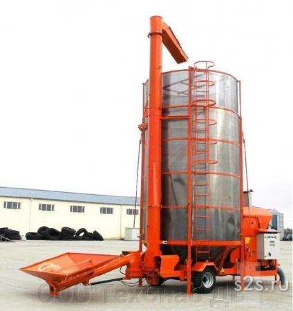 Мобильная зерносушилка FH-2.2х5
