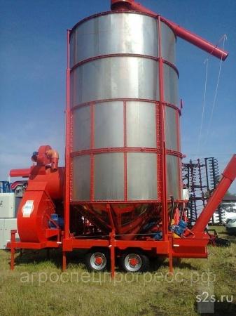 Мобильная зерносушилка АТМ 10 (дизельная\газовая)