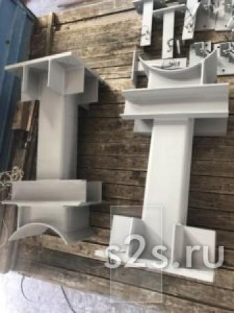 Производство опор стальных, подопорных металлоконструкций, ОПС на заказ