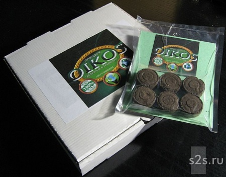Экологически чистое таблетированное удобрение из сапропеля Ойкос
