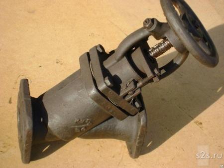 Клапан запорный прямоточный КЗП ТУ 742-005-05777029-2010